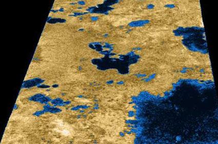 衛星タイタンの地下に海?生命もいるかも!