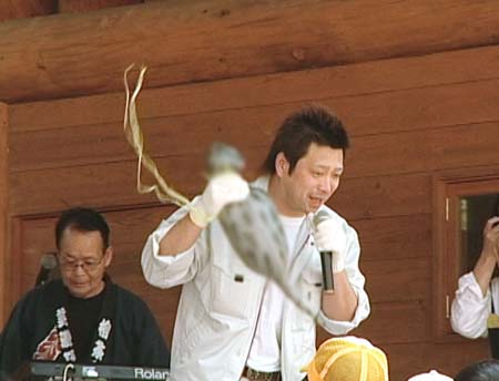 岐阜県で行われるツチノコフェスタ'08