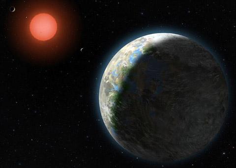 惑星グリーゼ581Gより規則性のある信号を受信