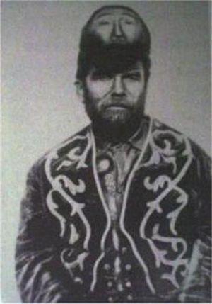 サーカスで人気のあったフリークス達の写真 2つの顔をもつ男、Pasqual Pinon。1889年生まれ