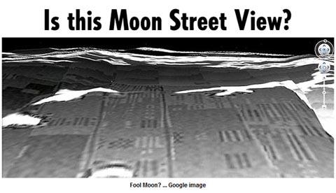 月の基地を発見?