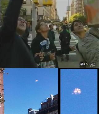 NYで目撃者多数!UFO来襲